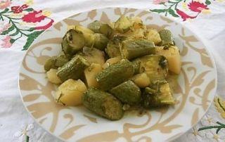 6317 Kolokithakia Me Patates Giaxni By Golfo