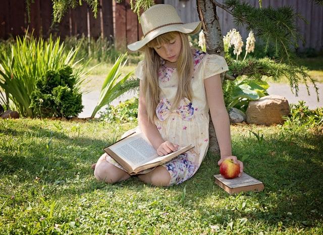 Child Girl Read Learn 159543