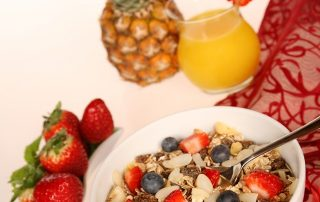 Muesli Cereals Oatmeal Fruit 48128
