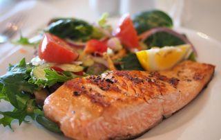 Salmon Dish Food Meal 46239